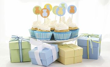 Baby Shower Spa Party