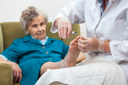 Mobile Manicure or Pedicure for Seniors - what's included